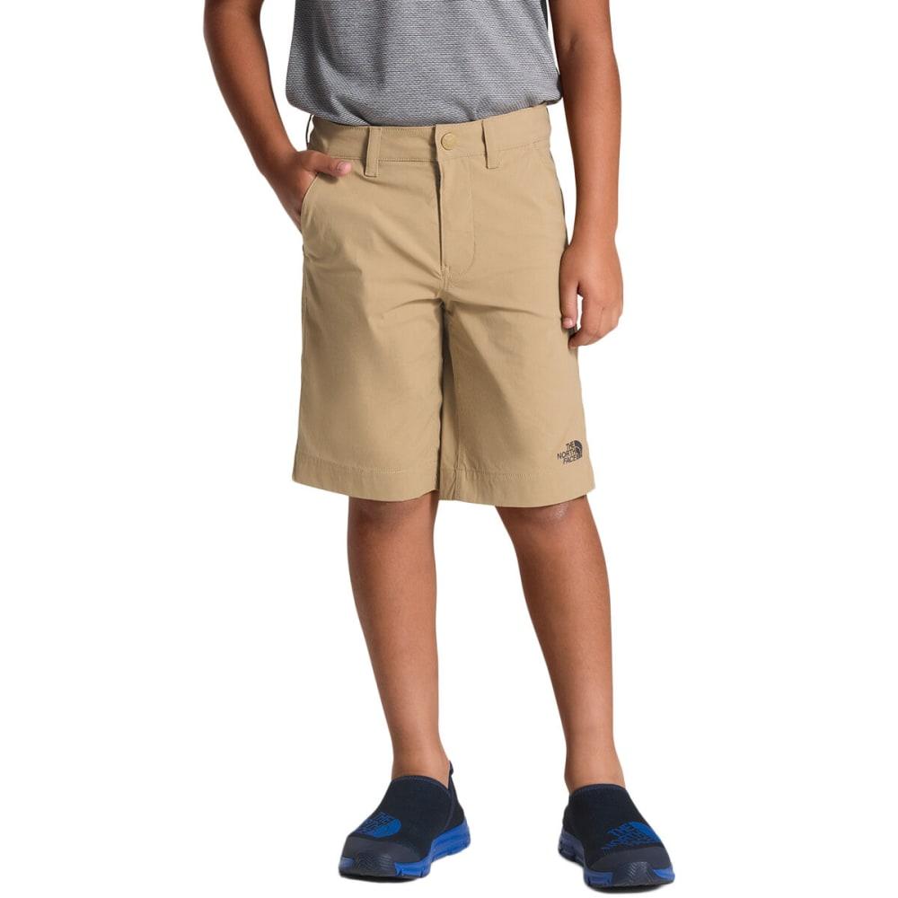 THE NORTH FACE Boys' Spur Trail Shorts - PLX KELP TAN