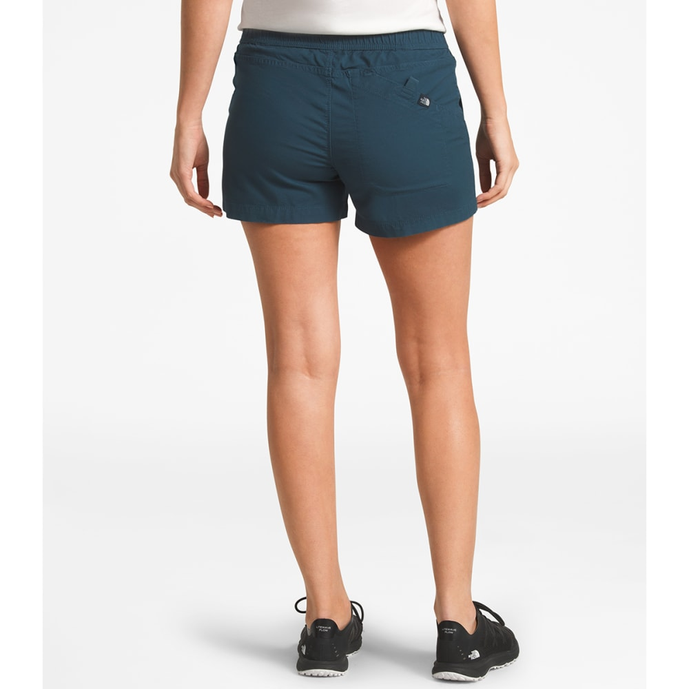 THE NORTH FACE Women's Ridgeside Pull-On Shorts - N4L BLUE WING TEAL