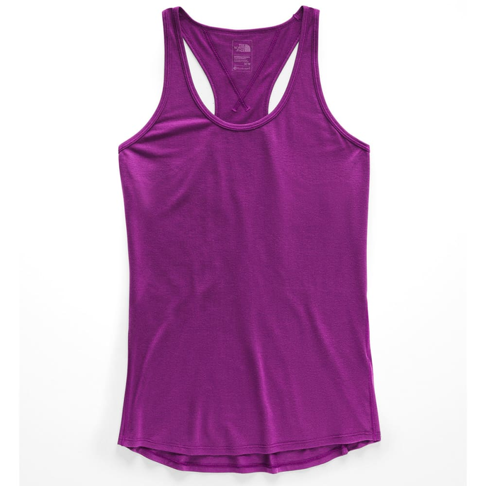 THE NORTH FACE Women's Workout Racerback Tank Top - 8NX PHLOX PURPLE