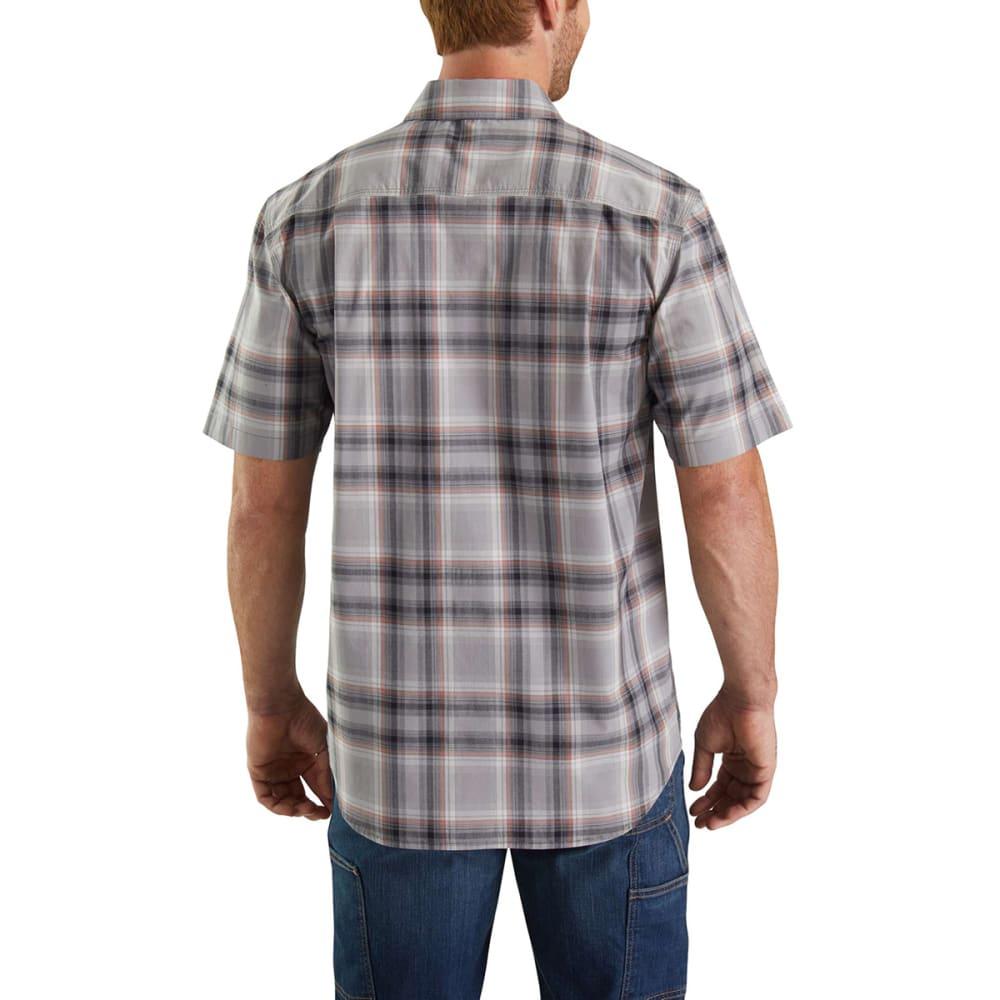 CARHARTT Men's Rugged Flex Bozeman Short-Sleeve Shirt - 066 ASPHALT