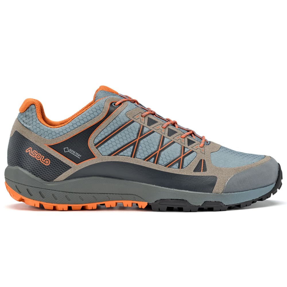 ASOLO Men's Grid GV Low Hiking Shoes - GOBLIN BLUE