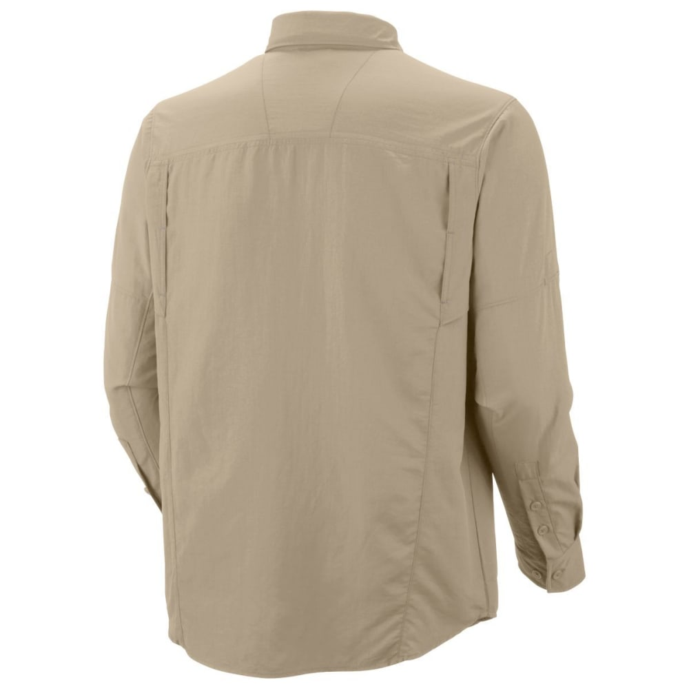 COLUMBIA Men's Silver Ridge™ 2.0 Long-Sleeve  Shirt - 019 COOL GREY