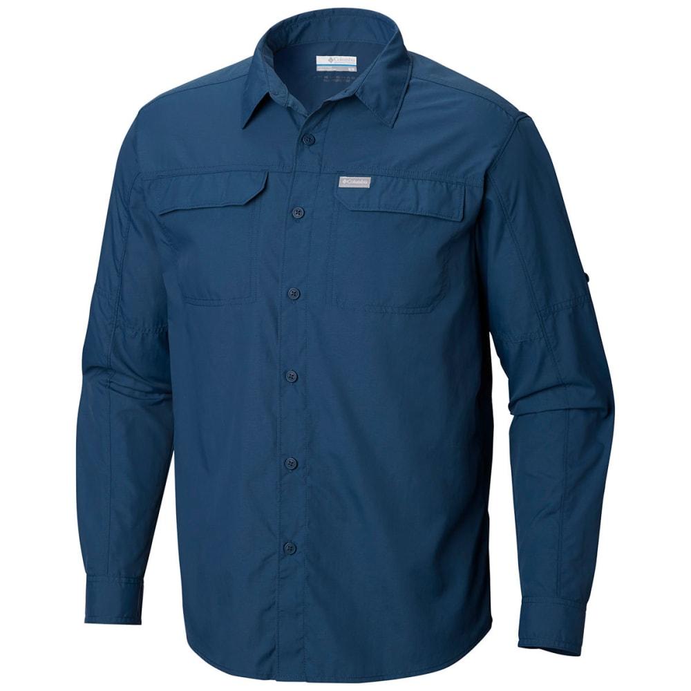 COLUMBIA Men's Silver Ridge™ 2.0 Long-Sleeve  Shirt - 403 PETROL BLUE