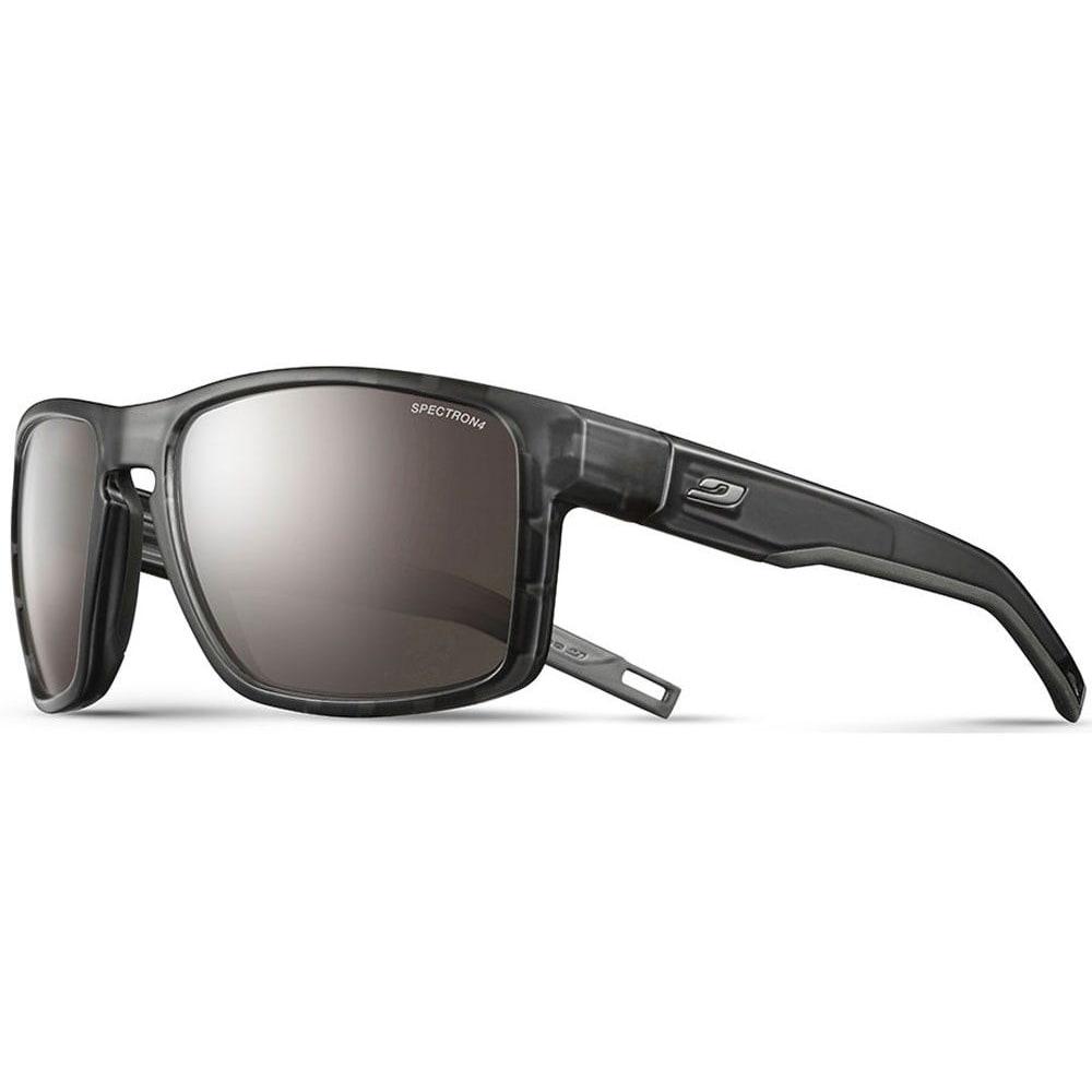 JULBO Shield Sunglasses - TRANSLUCENT BLK/BLK