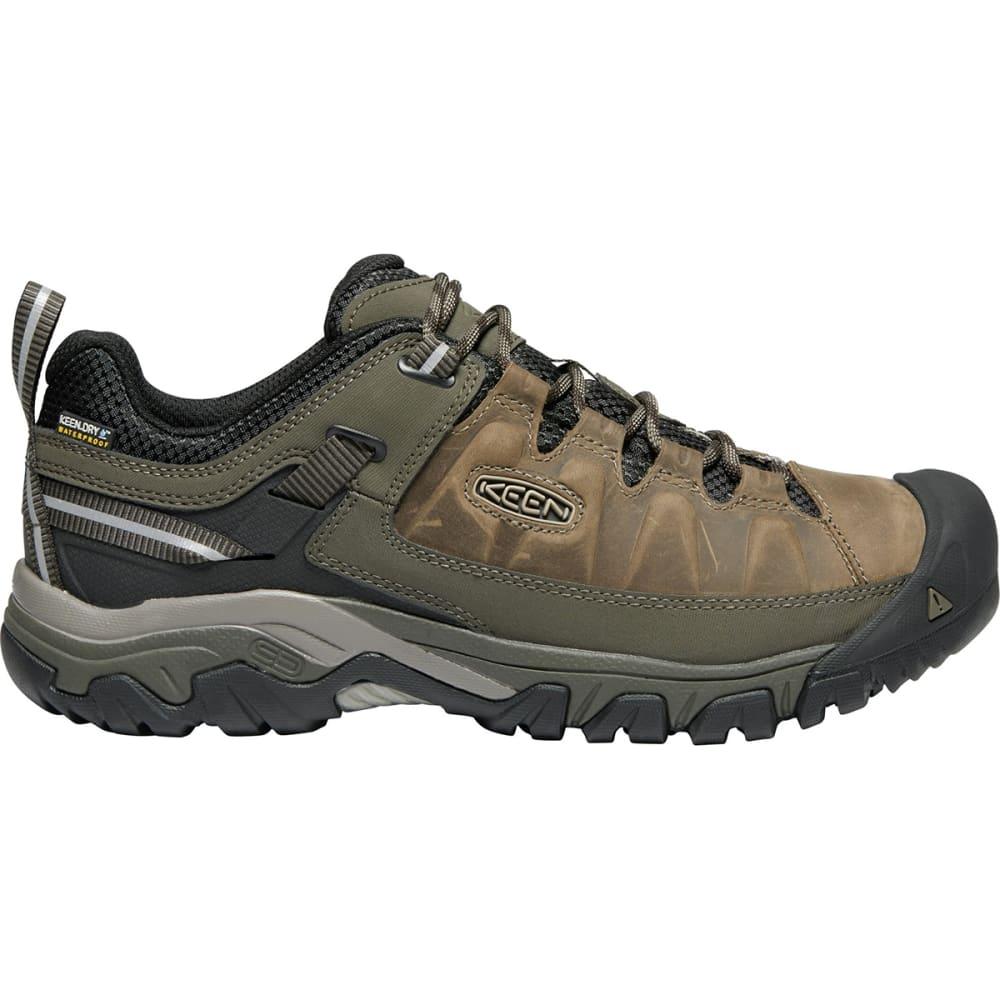 KEEN Men's Targhee III Waterproof Low Hiking Shoes - BUNGEE CORD/BLACK