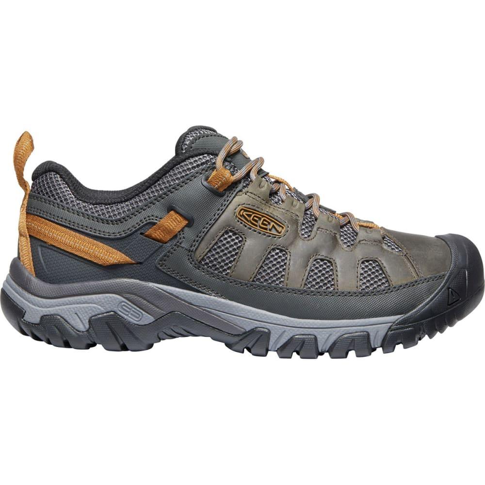 KEEN Men's Targhee Vent Low Hiking Shoes - RAVEN/BRONZE BROWN