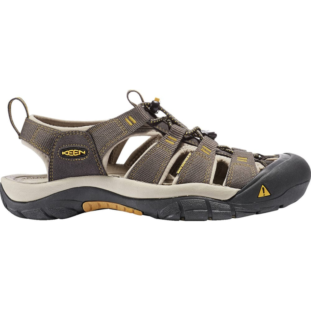 KEEN Men's Newport H2 Sandals - RAVEN/ALUMINUM