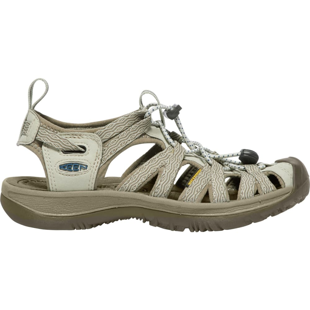 KEEN Women's Whisper Sandals - AGATE GREY/BLUE OPAL