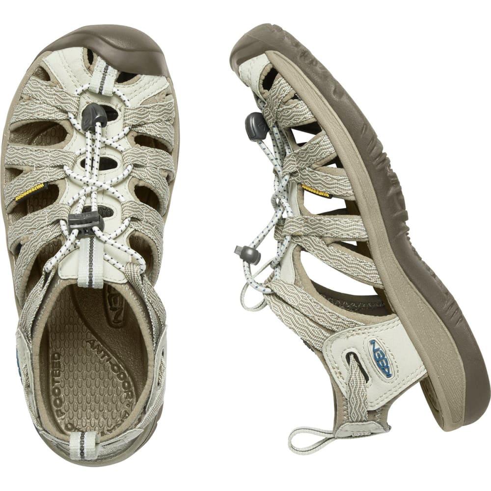 KEEN Women's Whisper Sandals - AGATE GREY/BLUE OPAL