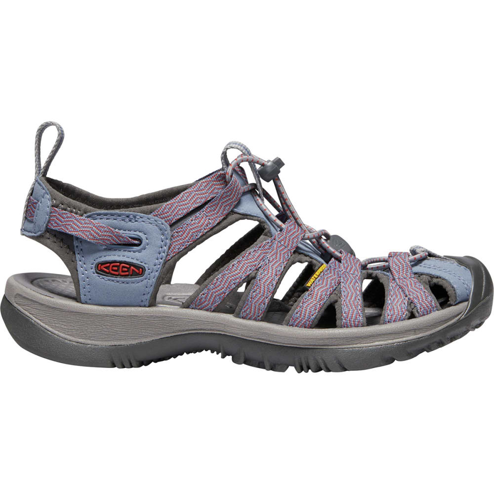 KEEN Women's Whisper Sandals - FLINT STONE/BOSSA NO