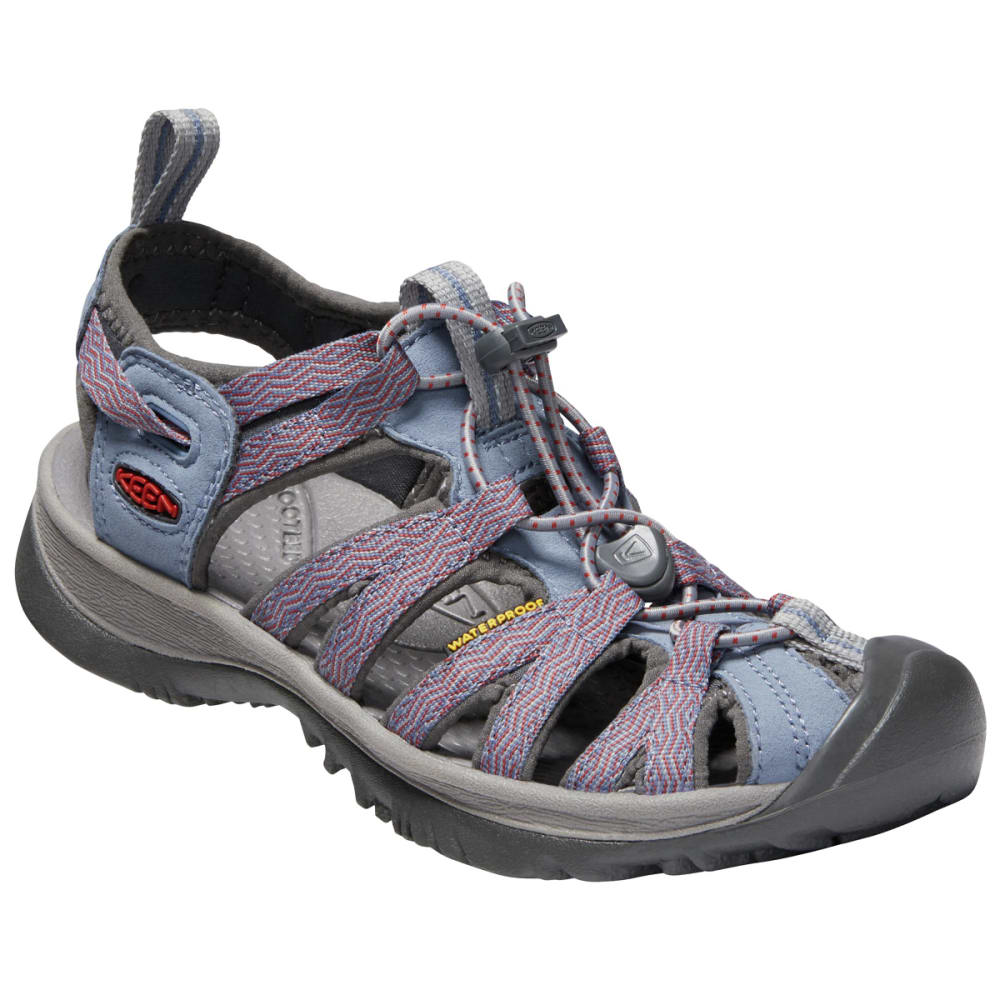 KEEN Women's Whisper Sandals - FLINT STONE/BOSSA NO