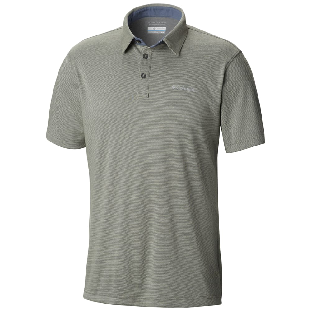 COLUMBIA Men's Thistletown Ridge Polo - BOULDER-003