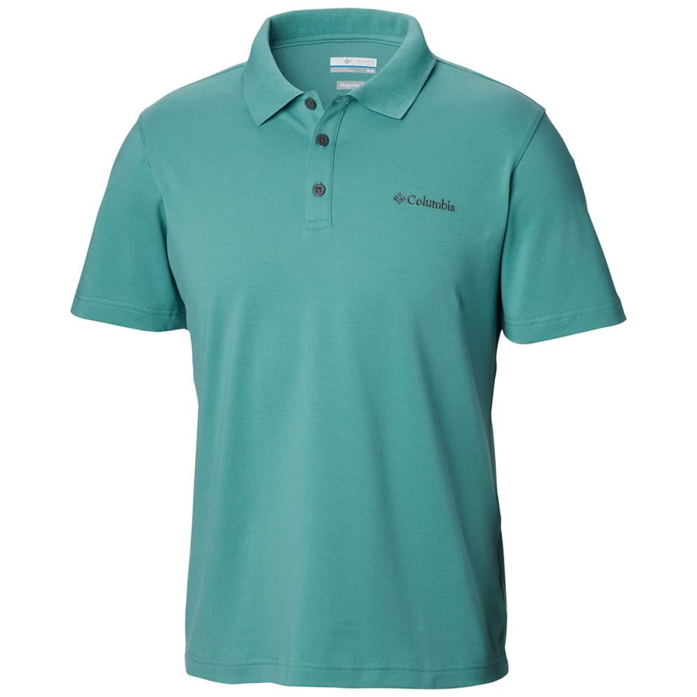 COLUMBIA Men's Elm Creek Stretch Polo - COPPER ORE-344