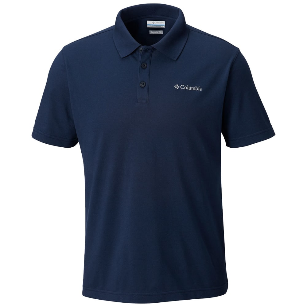 COLUMBIA Men's Elm Creek Stretch Polo - COLLEGIATE NAVY-464