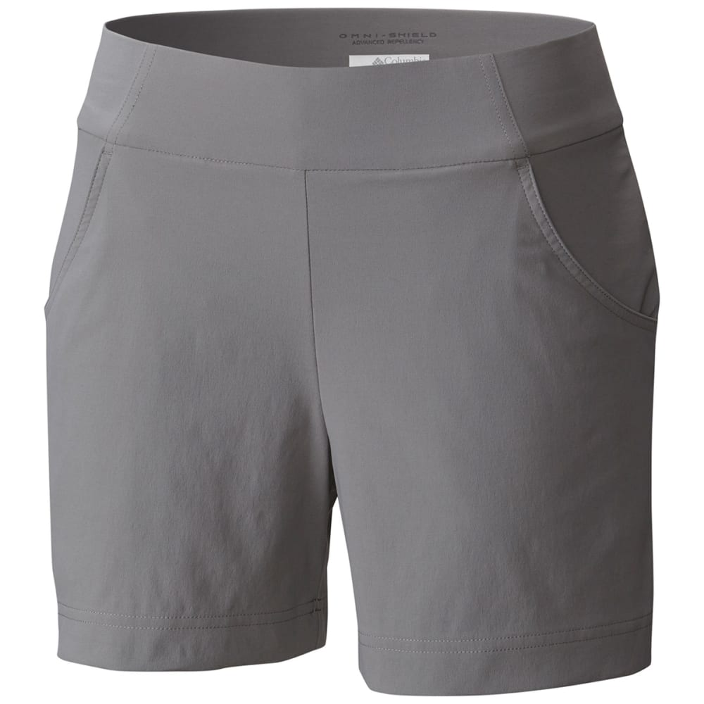 COLUMBIA Women's Anytime Casual Shorts - 060-LT GREY