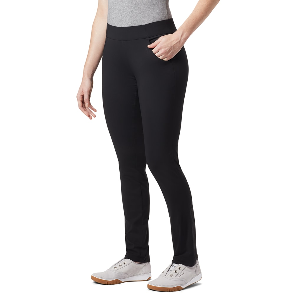 COLUMBIA Women's Anytime Casual™ Pull On Pants - 010-BLACK