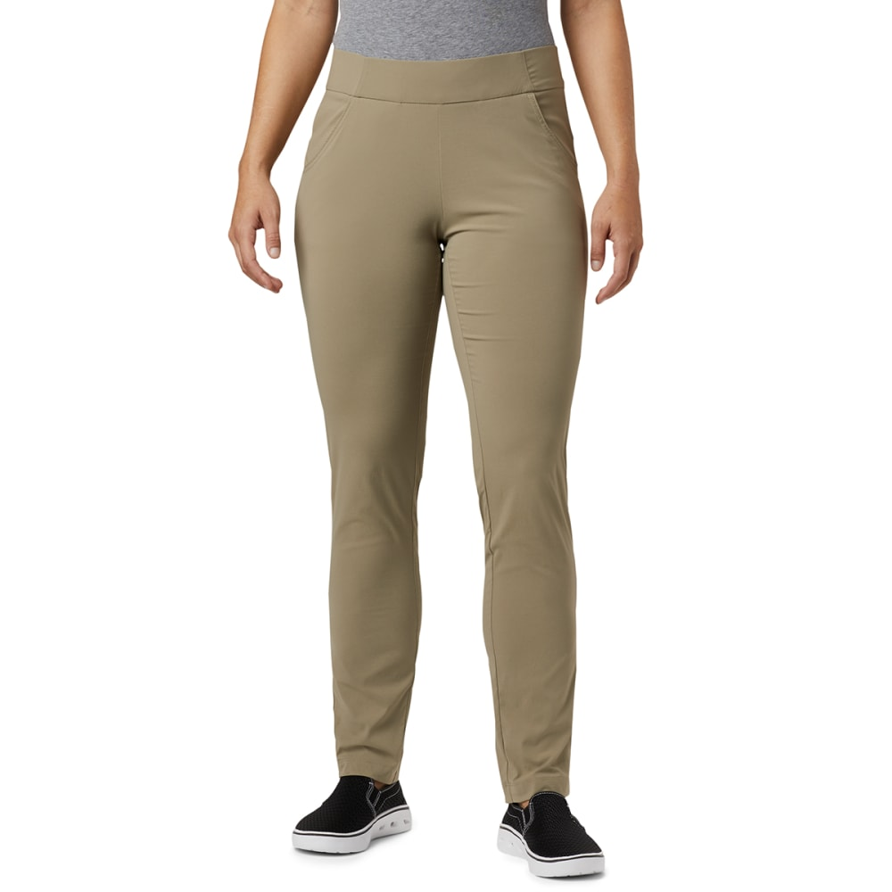 COLUMBIA Women's Anytime Casual™ Pull On Pants - 221-TUSK