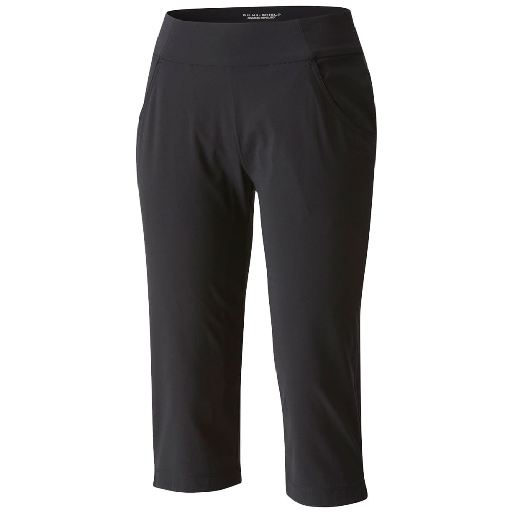 COLUMBIA Women's Anytime Casual Capri Pants - 010-BLACK