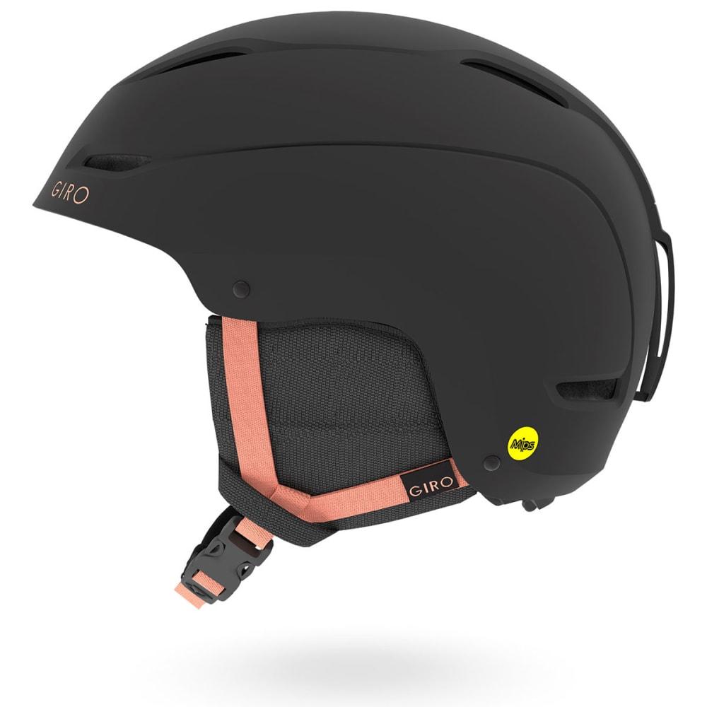 GIRO Women's Ceva MIPS Snow Helmet - MATTE BLACK/PEACH