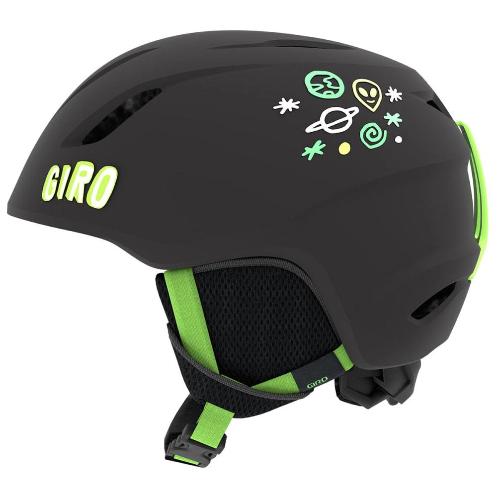 GIRO Kids' Launch MIPS Snow Helmet - MATBLK/BRTGRNALIEN