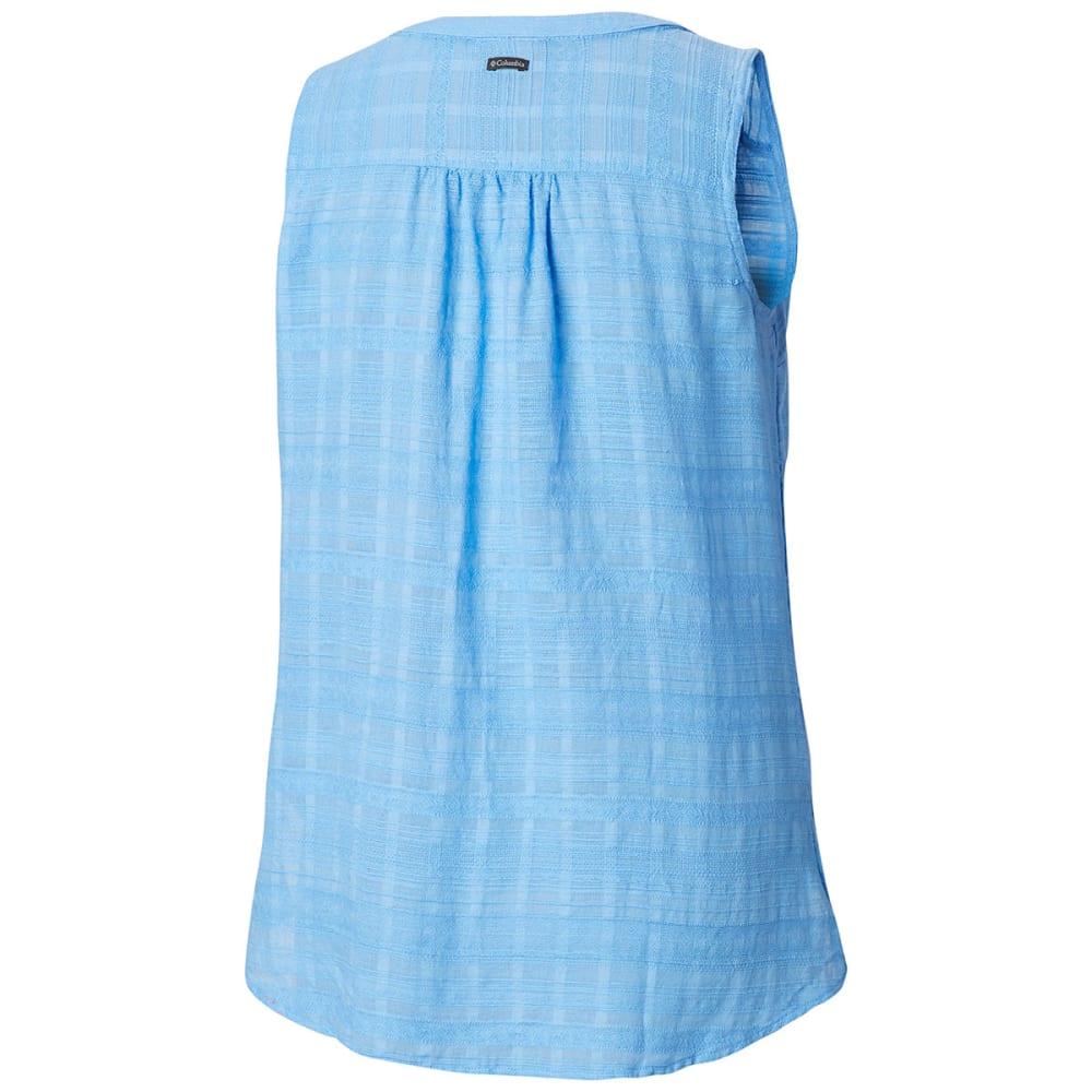 COLUMBIA Women's Summer Ease Sleeveless Shirt - 450-WHITE CAP STRIPE
