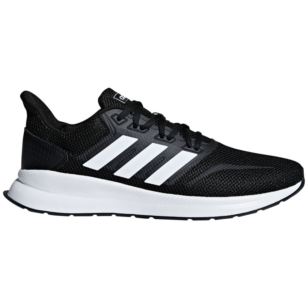 ADIDAS Men's Run Falcon Running Shoes - BK/WT/BK-F36199