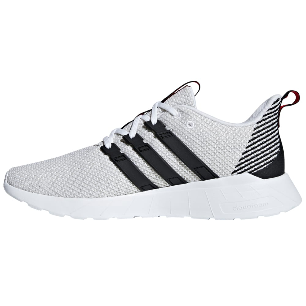 ADIDAS Men's Questar Flow Running Shoes - GRY/BLK-F36241
