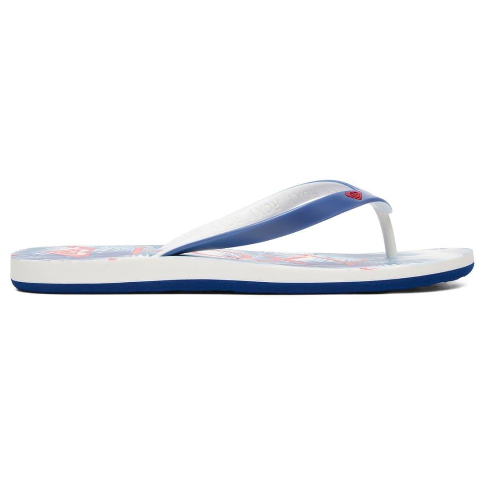 33db63a011bb7 ... ROXY Women  39 s Tahiti VI Flip-Flops - LBL-LIGHT BLUE