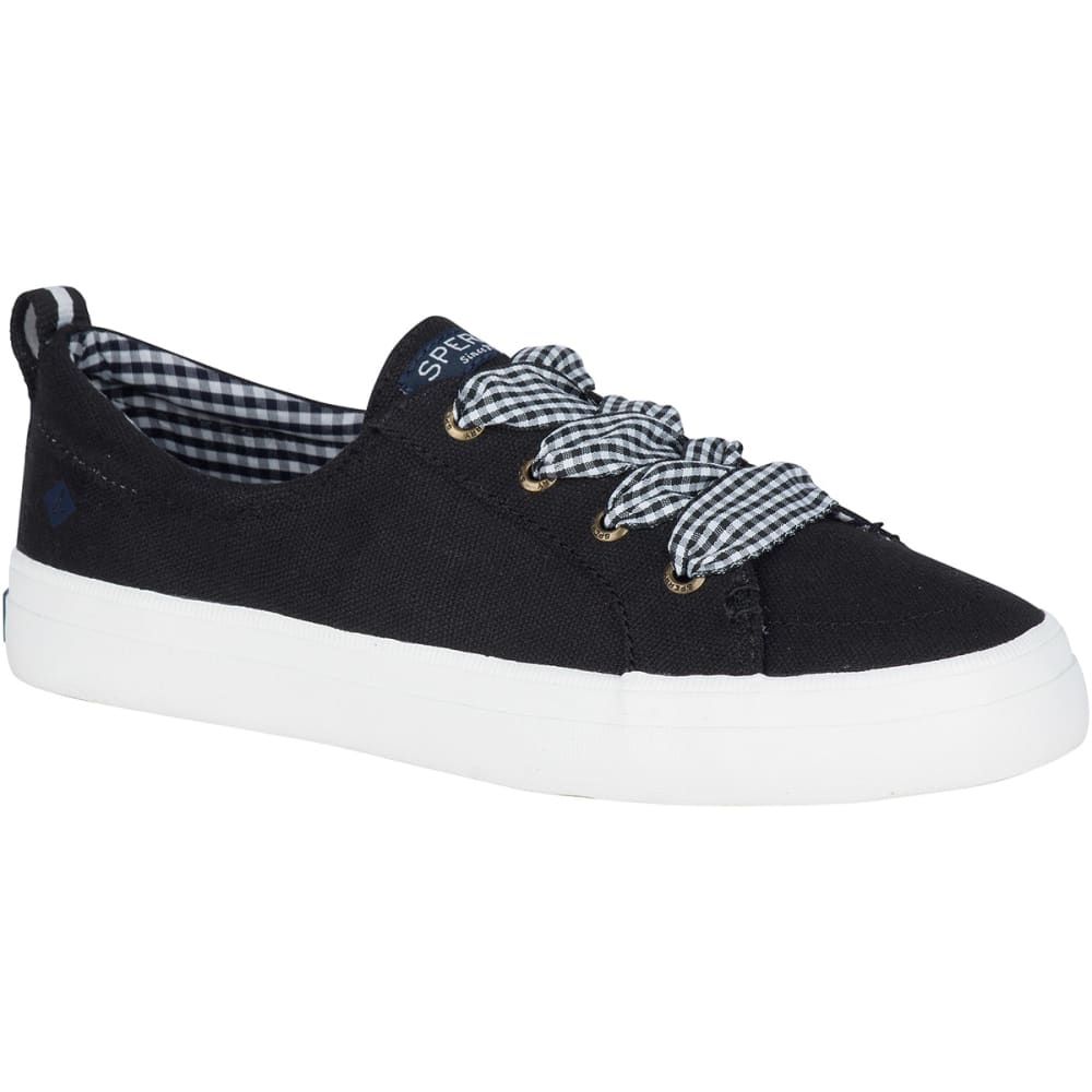 SPERRY Women's Crest Vibe Gingham Lace Sneakers 7