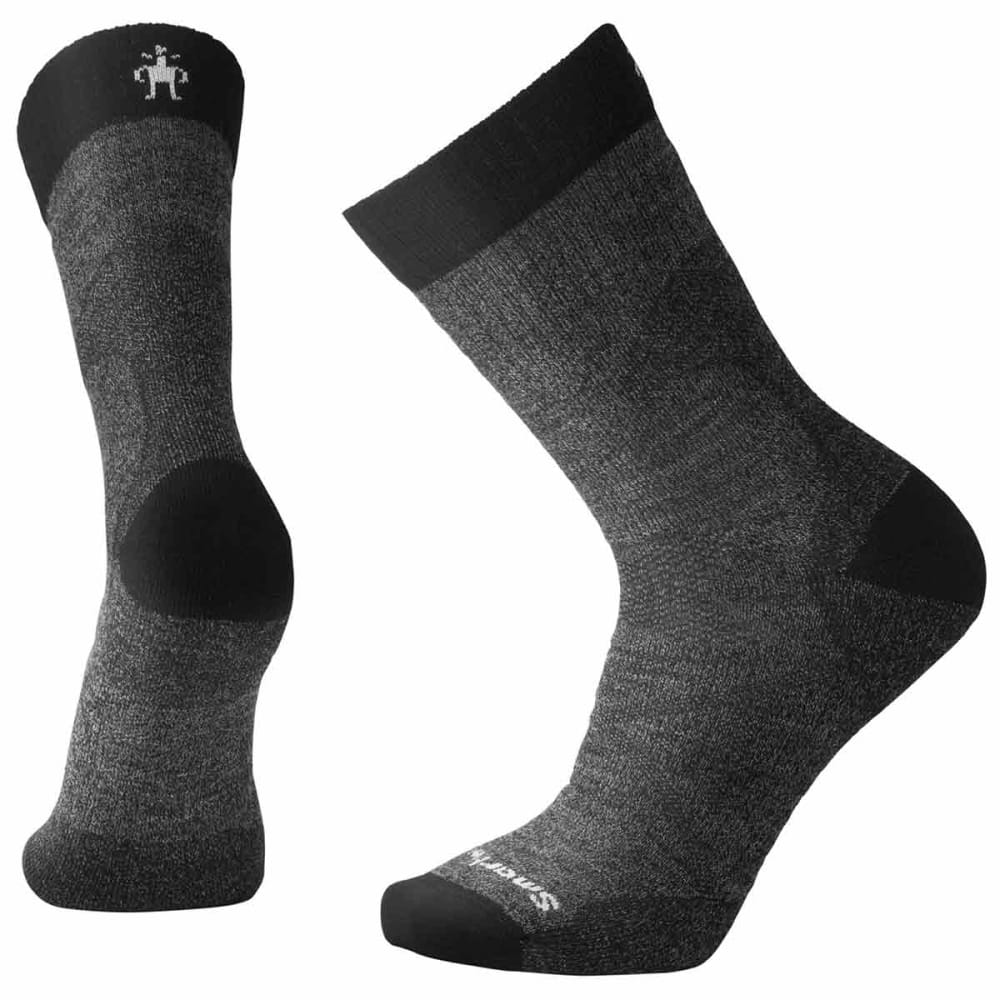 SMARTWOOL Men's PhD Pro Outdoor Medium Crew Socks - 001-BLACK
