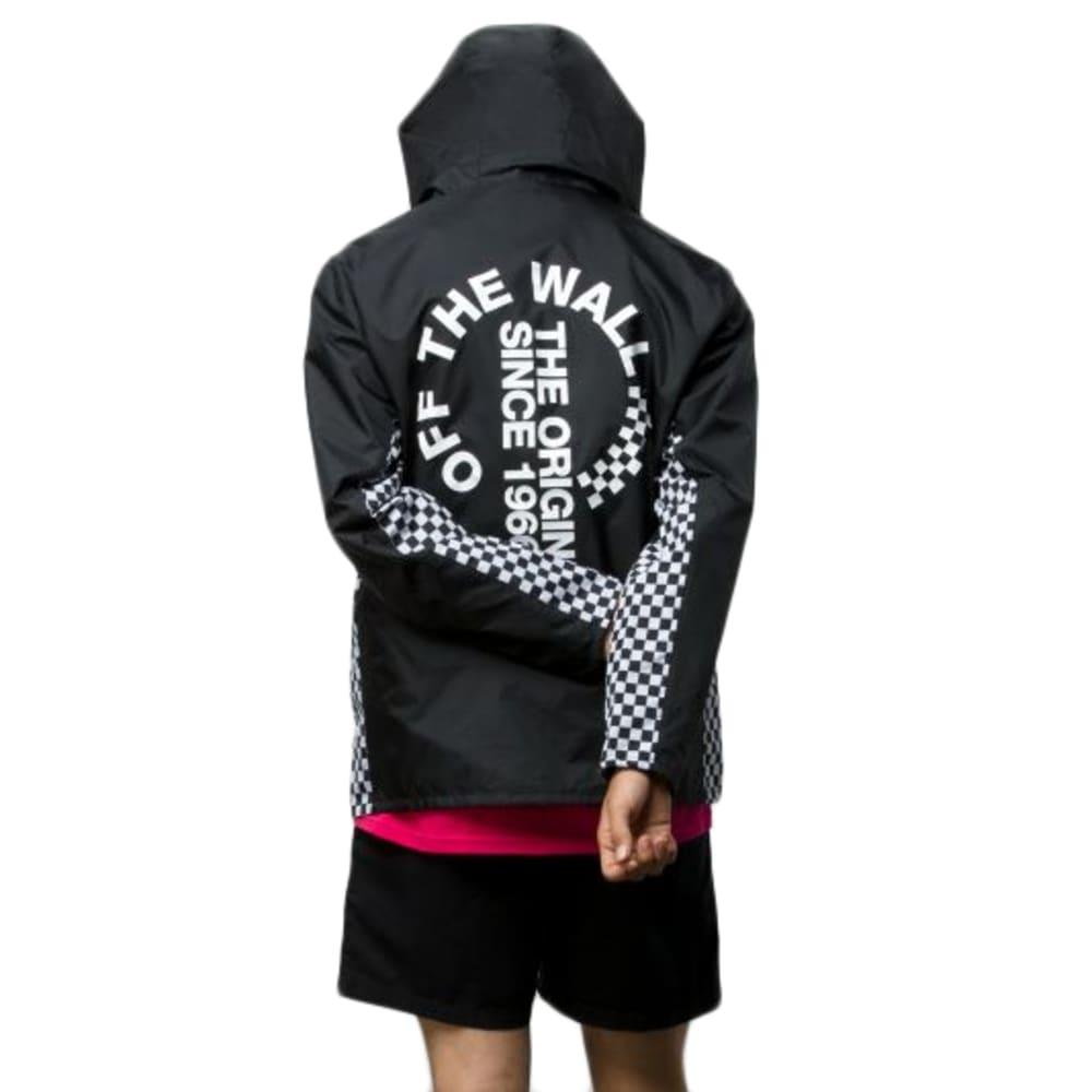 VANS' Guys' Off The Wall Distort Anorak Jacket S