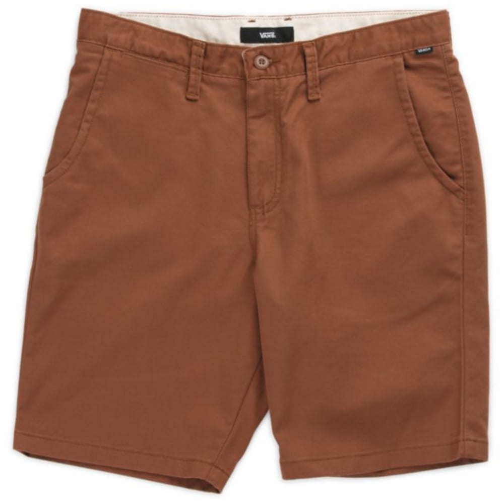 VANS Guys' 20 in. Authentic Stretch Shorts 28