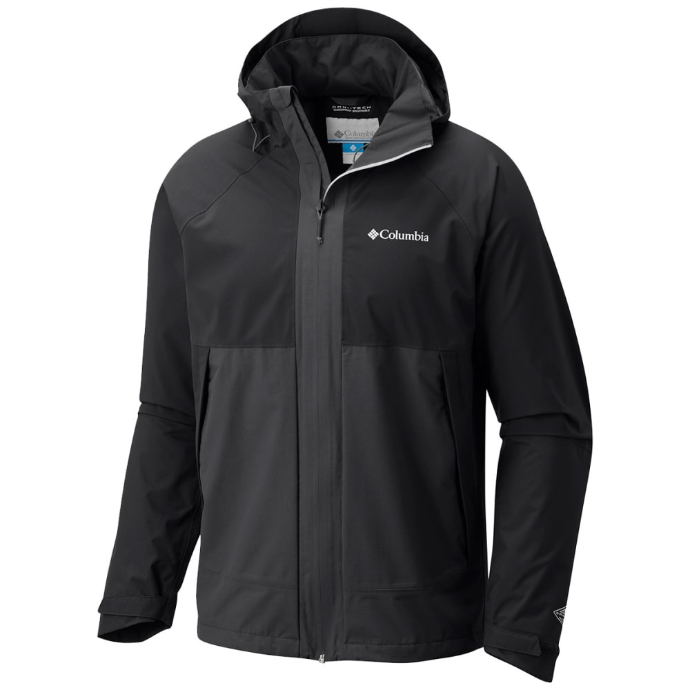 COLUMBIA Men's Evolution Valley Jacket - 010 BLACK SHARK