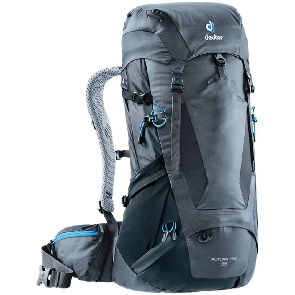 DEUTER Futura Pro 36 Pack - GRAPHITE/BLACK