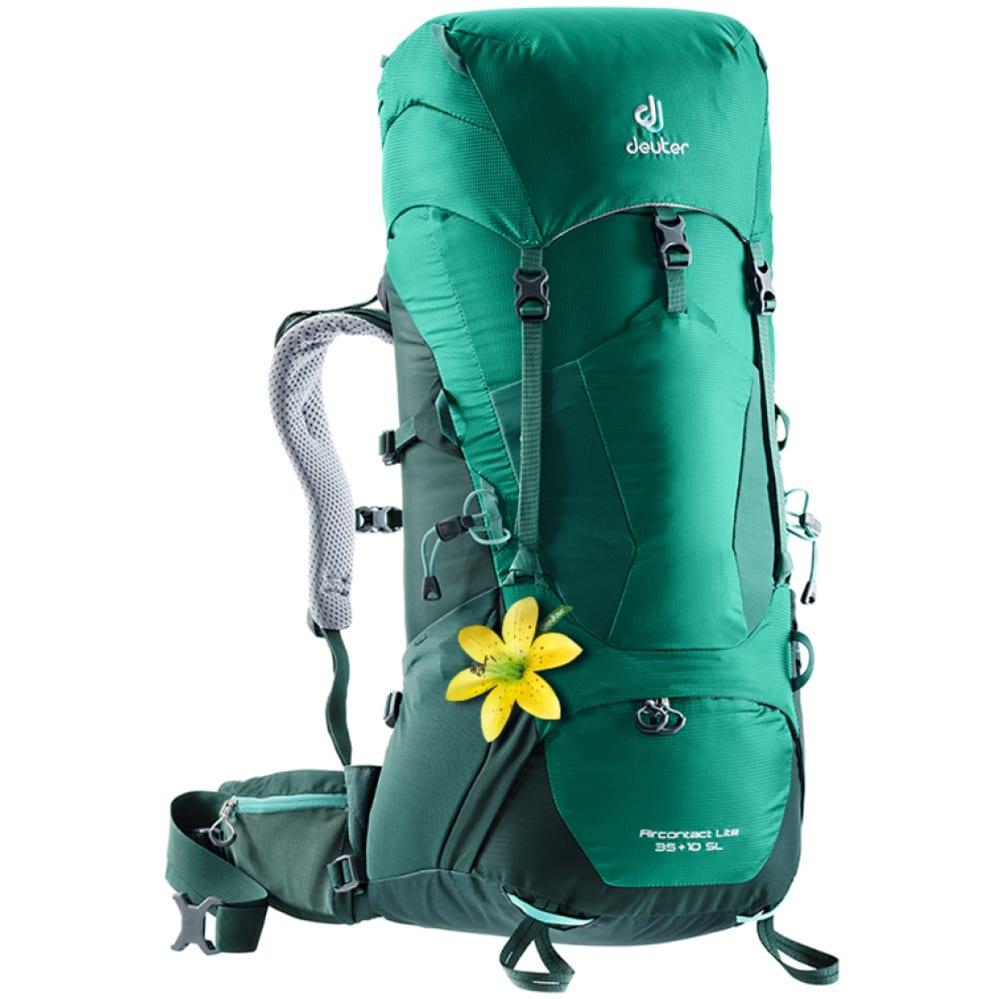DEUTER Women's Air Contact Lite 35+10 SL Pack - ALPINE GREEN/FOREST