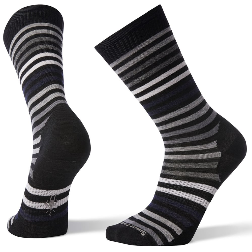 SMARTWOOL Men's Spruce Street Crew Socks - 001-BLACK