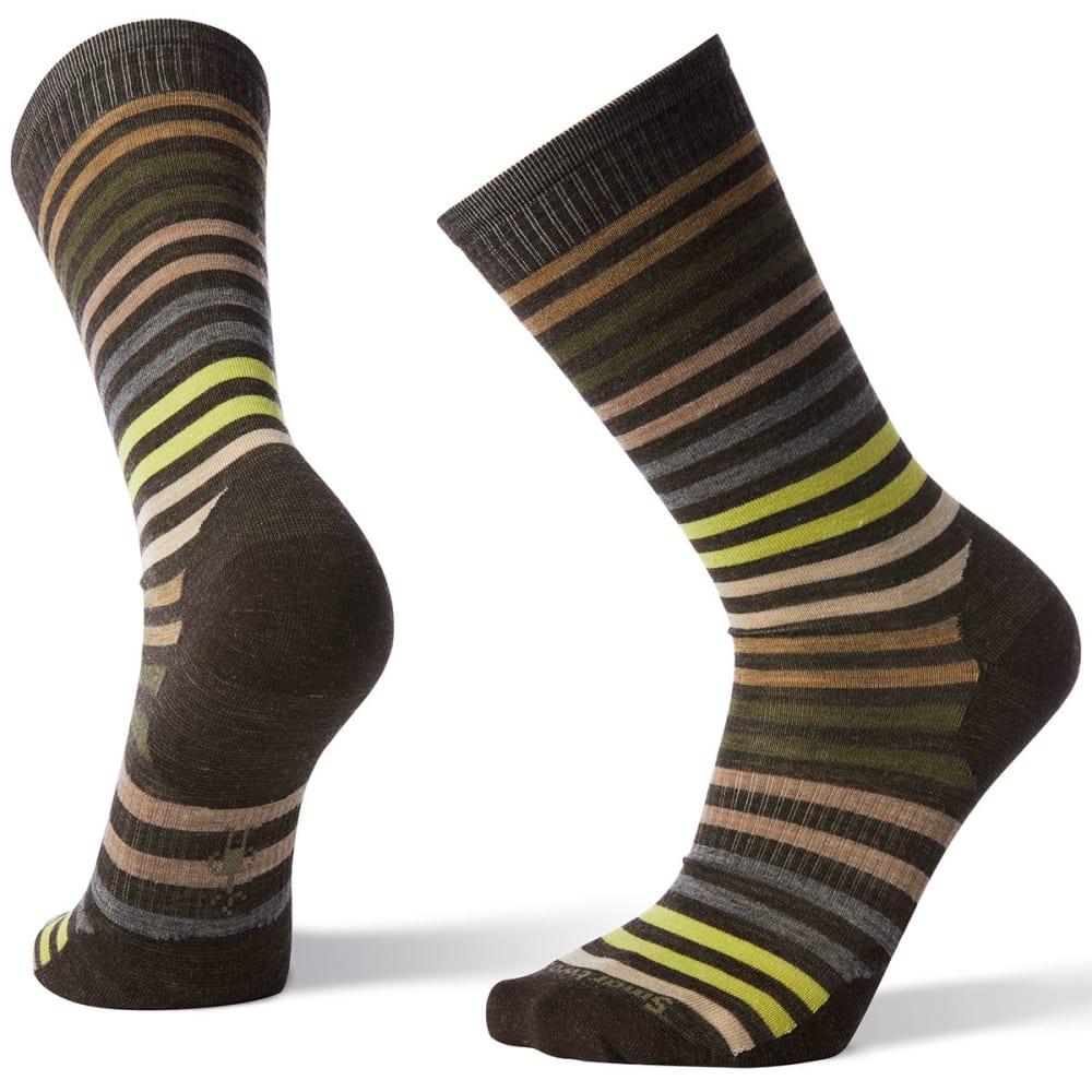 SMARTWOOL Men's Spruce Street Crew Socks - 207-CHESTNUT