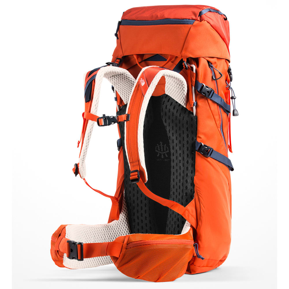 THE NORTH FACE Terra 55 Pack - ZION ORANGE/SHDY BLU