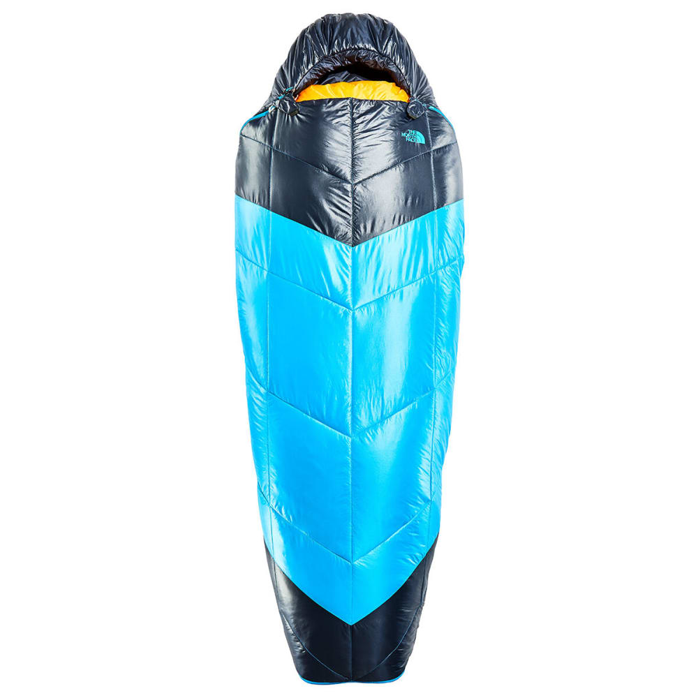 THE NORTH FACE The One Bag Sleeping Bag, Regular Length - HYPER BLUE/YELLOW
