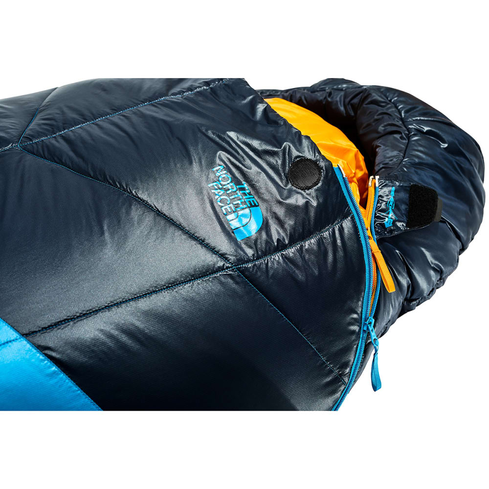 THE NORTH FACE The One Bag Sleeping Bag, Long - HYPER BLUE/YELLOW