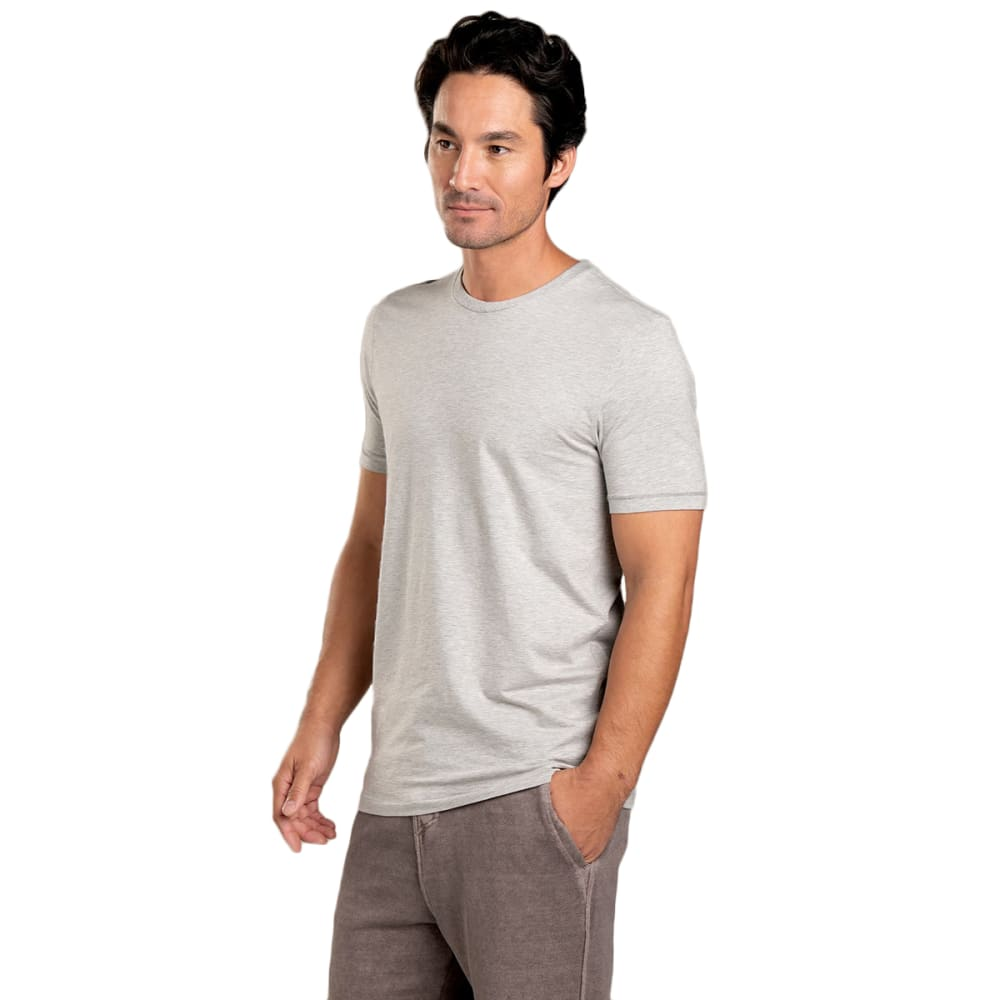 TOAD & CO. Men's Short-Sleeve Tempo Tee - 111-HEATHER GREY