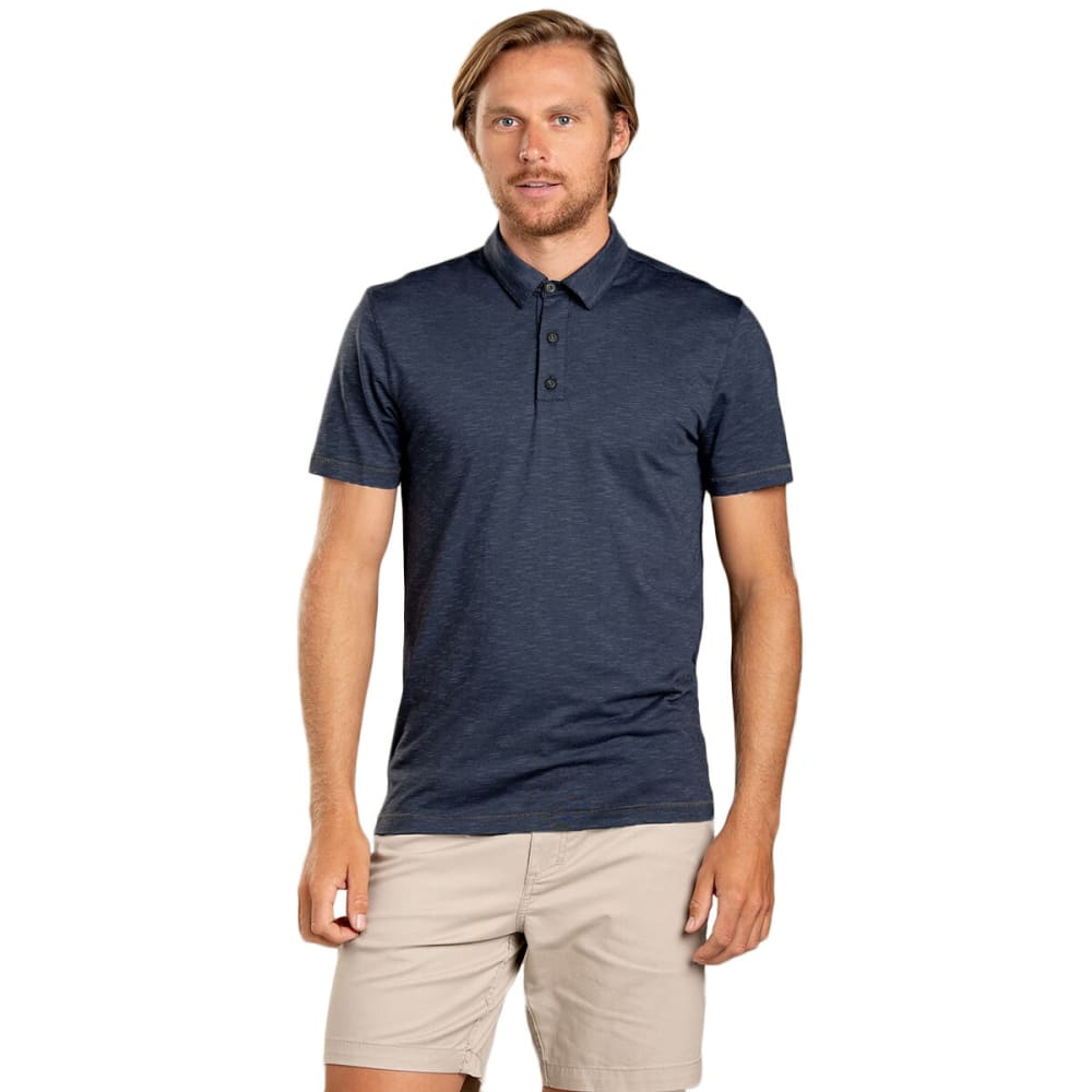 TOAD & CO. Men's Short-Sleeve Tempo Polo - 447-NIGHT SKY
