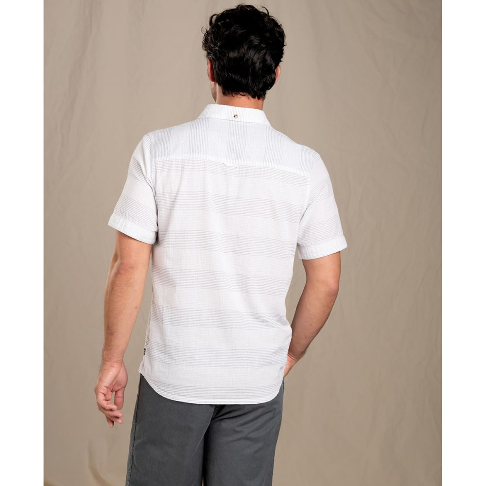 TOAD & CO. Men's Short-Sleeve Airlift Shirt, Slim - 000-WHITE