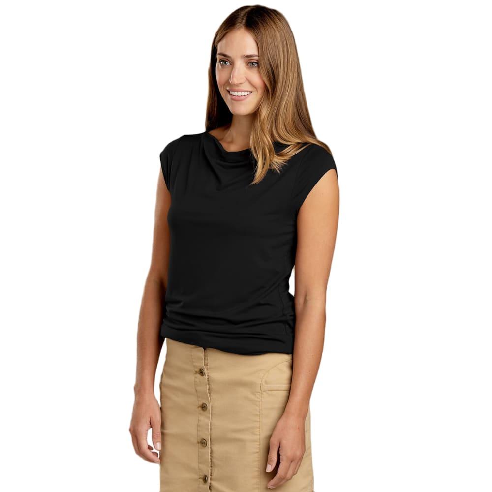 TOAD & CO. Women's Susurro Duo Short-Sleeve T-Shirt - 100-BLACK