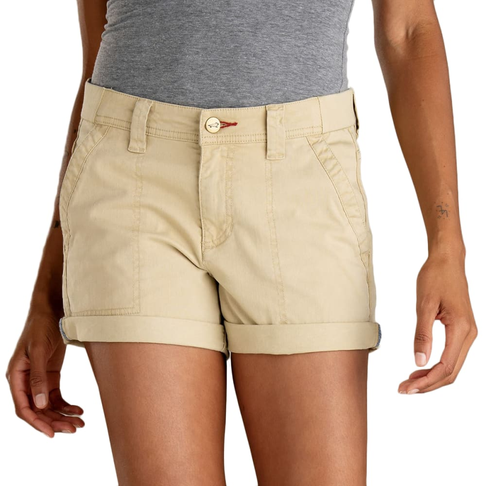 TOAD & CO. Women's Touchstone Camp Shorts - 245-STARFISH