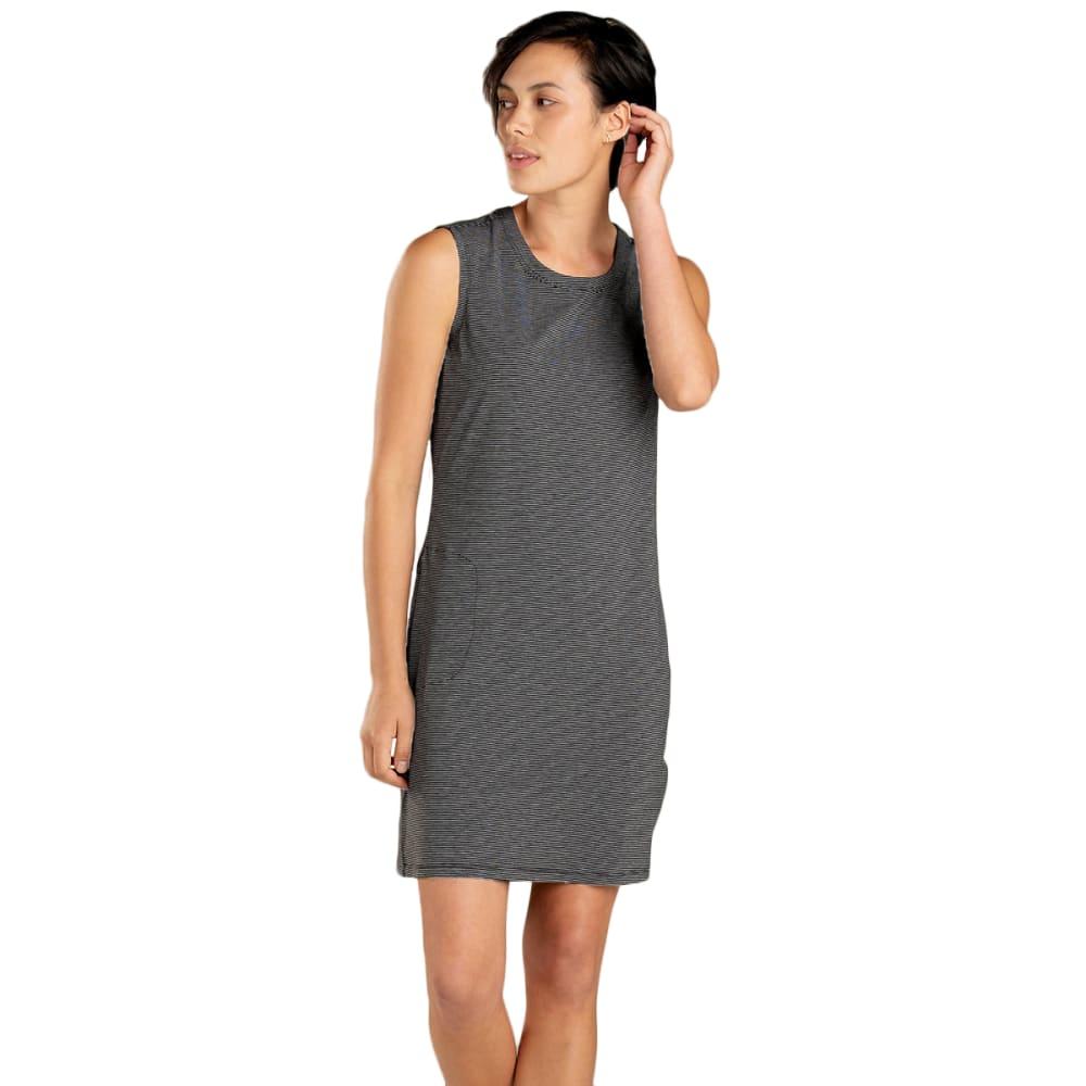 TOAD & CO. Women's Swifty Breathe Dress - 098-BLACK STRIPE