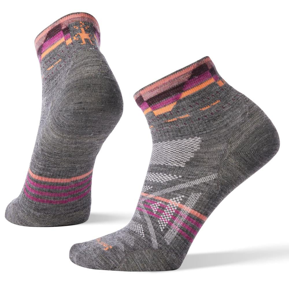 SMARTWOOL Women's PhD Outdoor Ultra Light Pattern Mini Socks S