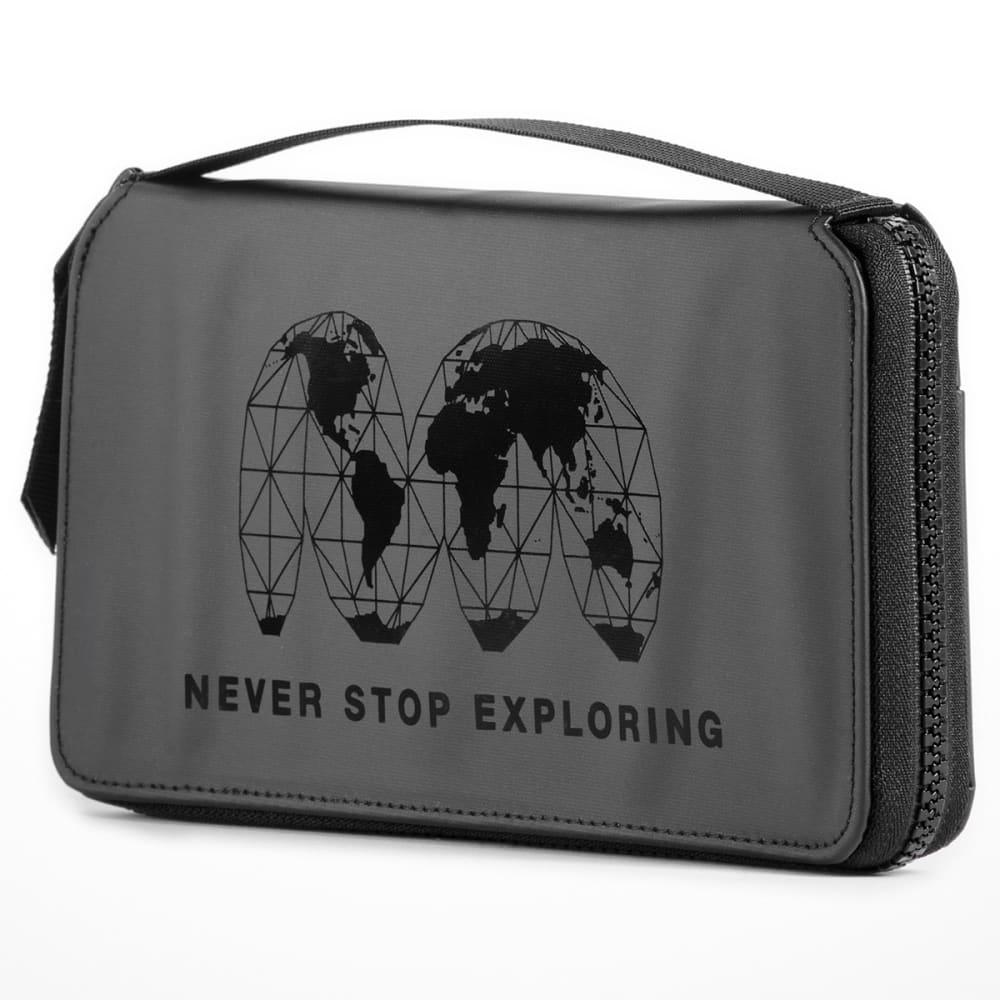 THE NORTH FACE Stratoliner Passport Wallet - TNF BLACK