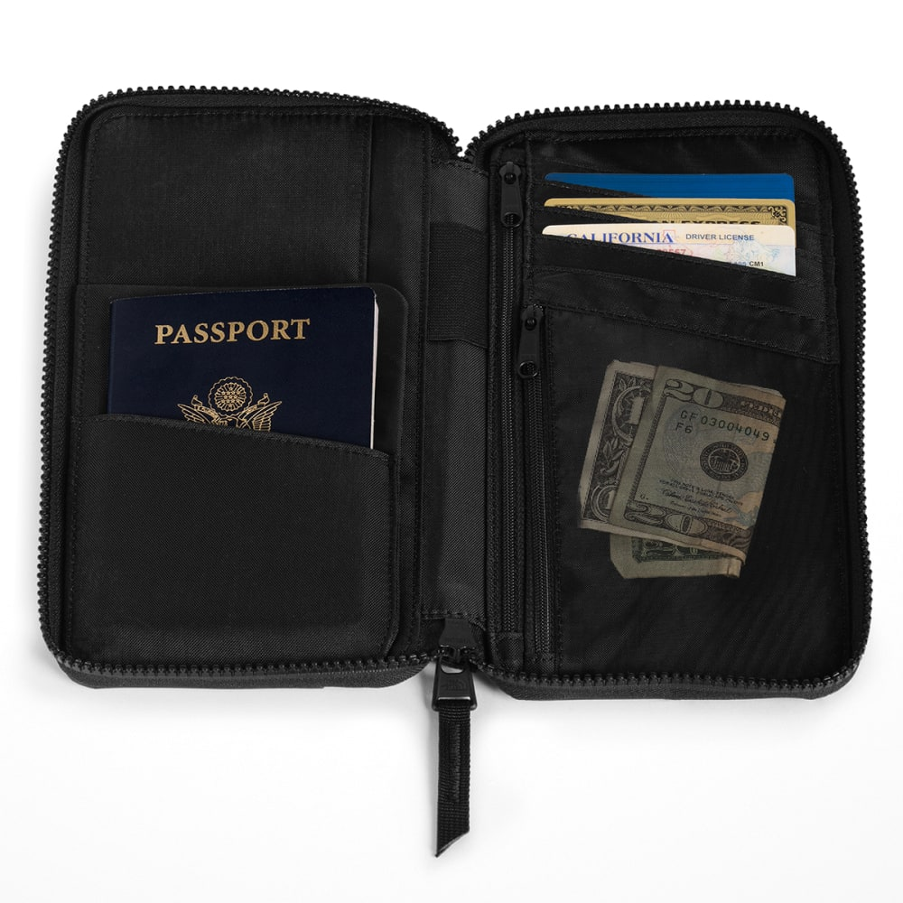 THE NORTH FACE Stratoliner Passport Wallet - TNF BLACK