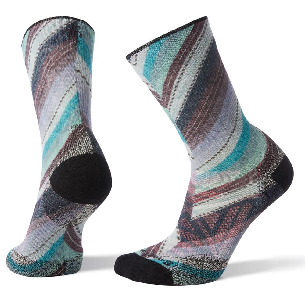 SMARTWOOL Women's PhD Outdoor Light Print Crew Socks S